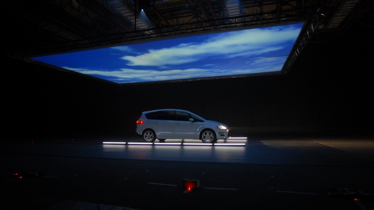 Event Projection: Ford S Max Projection Mapping
