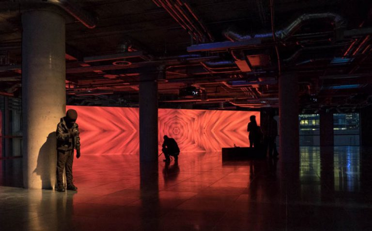 Event Projection: Lazarides Exhibition Immersive Projection