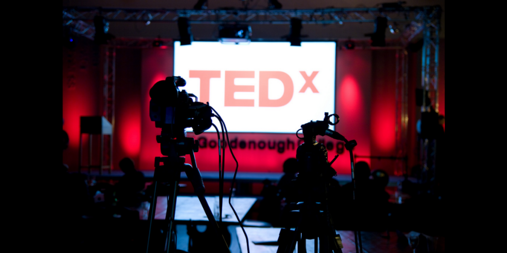 Projection for Corporate Events - TEDx at Goodenough College