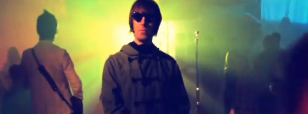 Projection for Music Promos - Beady Eye projection