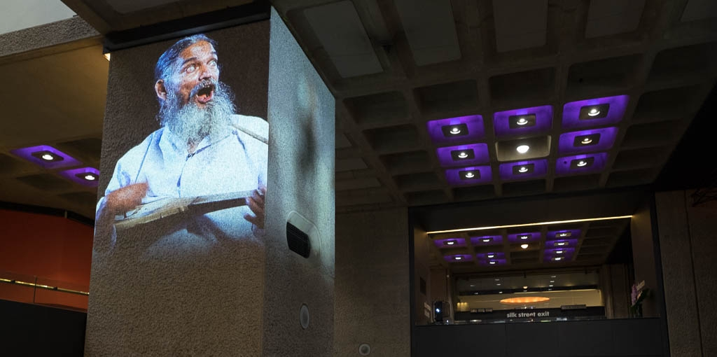 Event Projection: Portrait of Baul at The Barbican