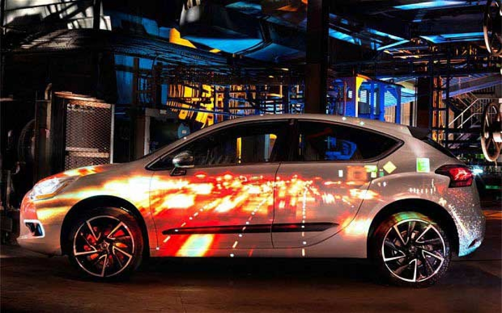 Projection for Advertising Campaigns - Citroen