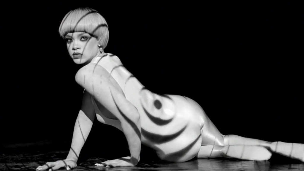 Terrific Event Projection Projection For Rihannas Music Video Short Hairstyles For Black Women Fulllsitofus
