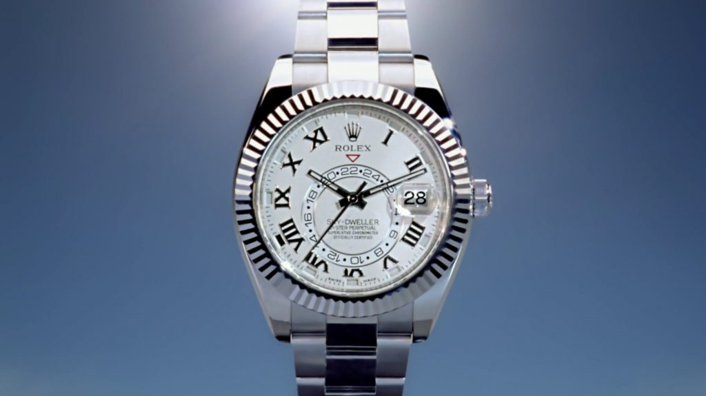 Projection for Advertising Campaigns - Rolex