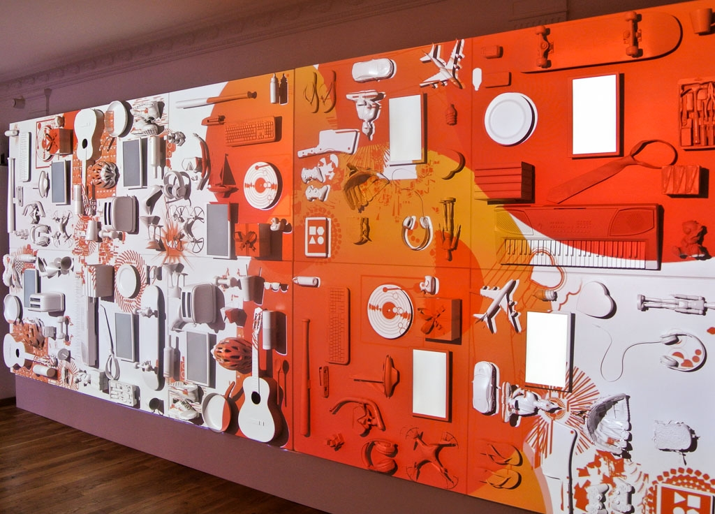 Projection Mapped Wall - Spotify at Cannes Lions International Festival of Creativity
