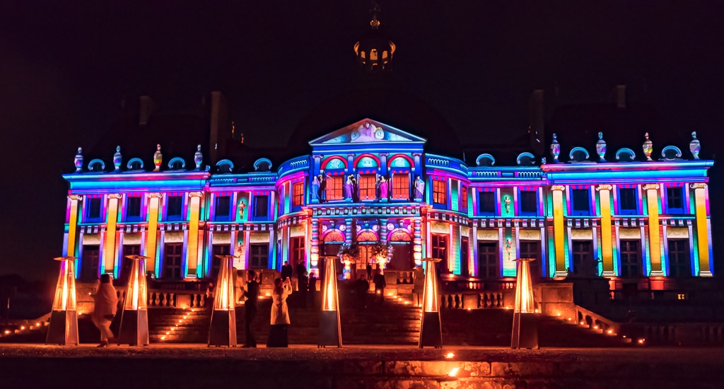 Projection Mapping for weddings: Chateau Vaux-le-Vicomte