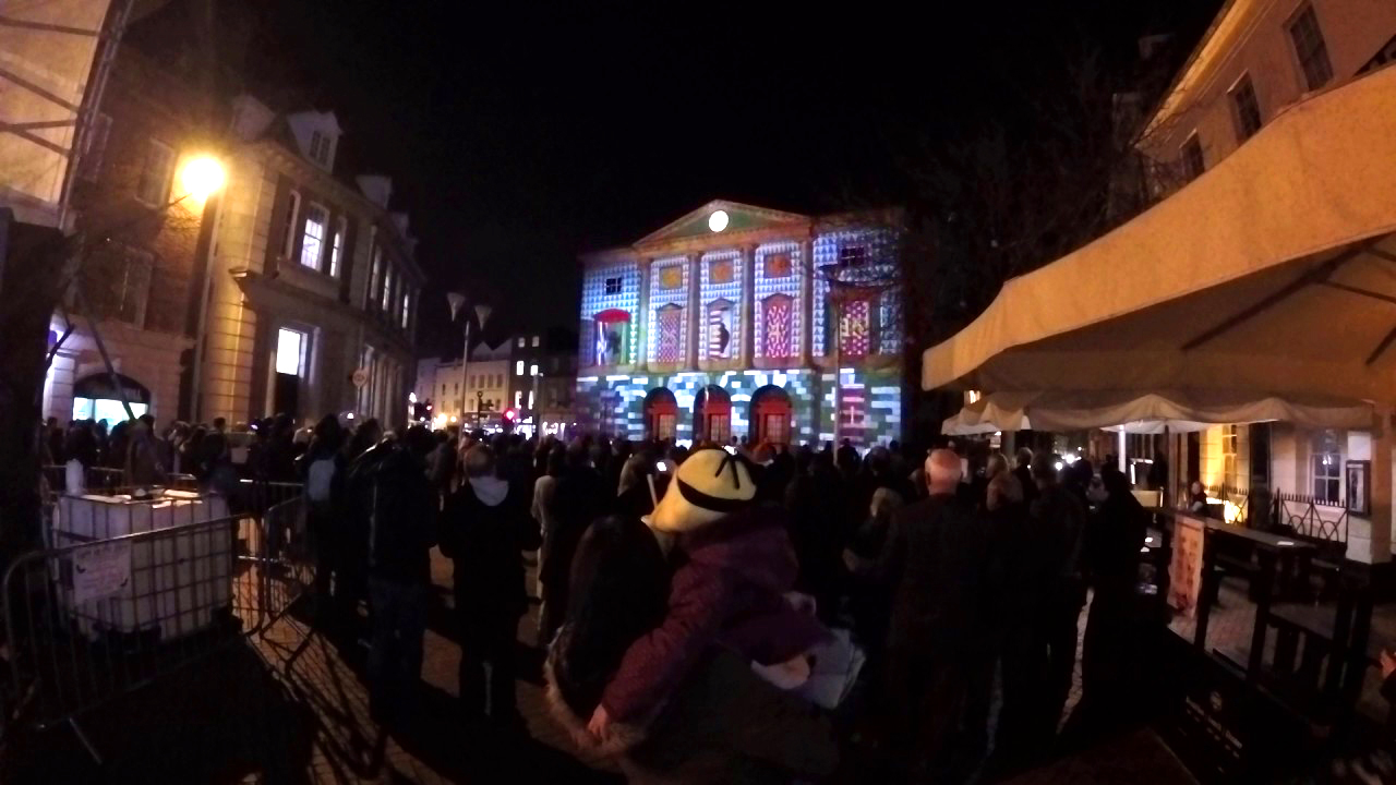 Shire Hall Chelmsford: Projection Mapping by Event Projection