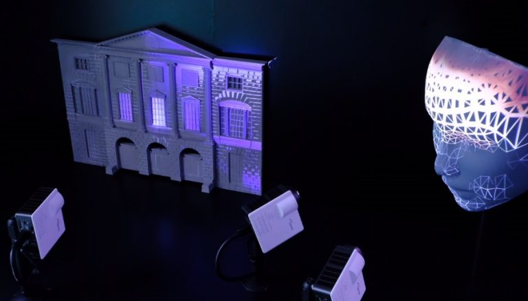 Event Projection Small Scale Projection Mapping