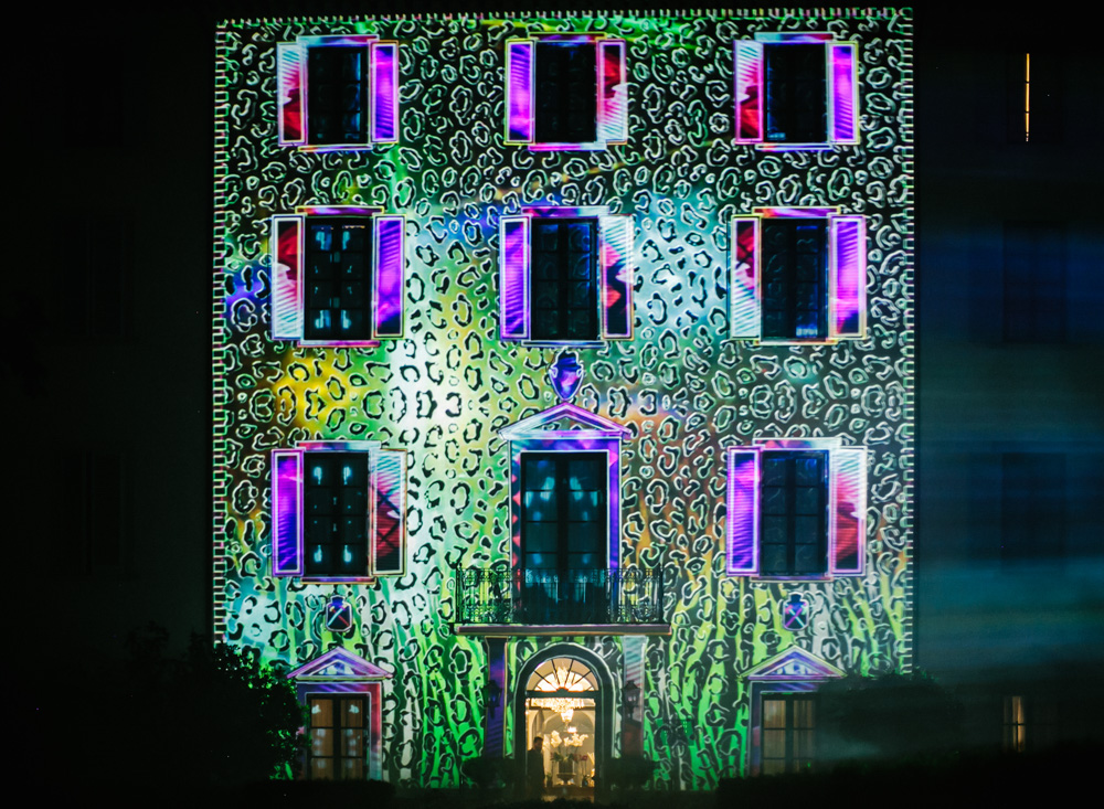 Wedding Projection Mapping Four Seasons Florence