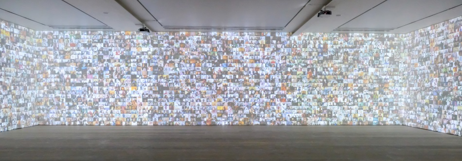 Event Projection: Hello World!/From Selfie to Self-Expression at Saatchi Gallery