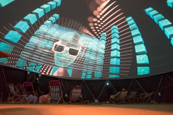 GaiaNova 360 projection theatre