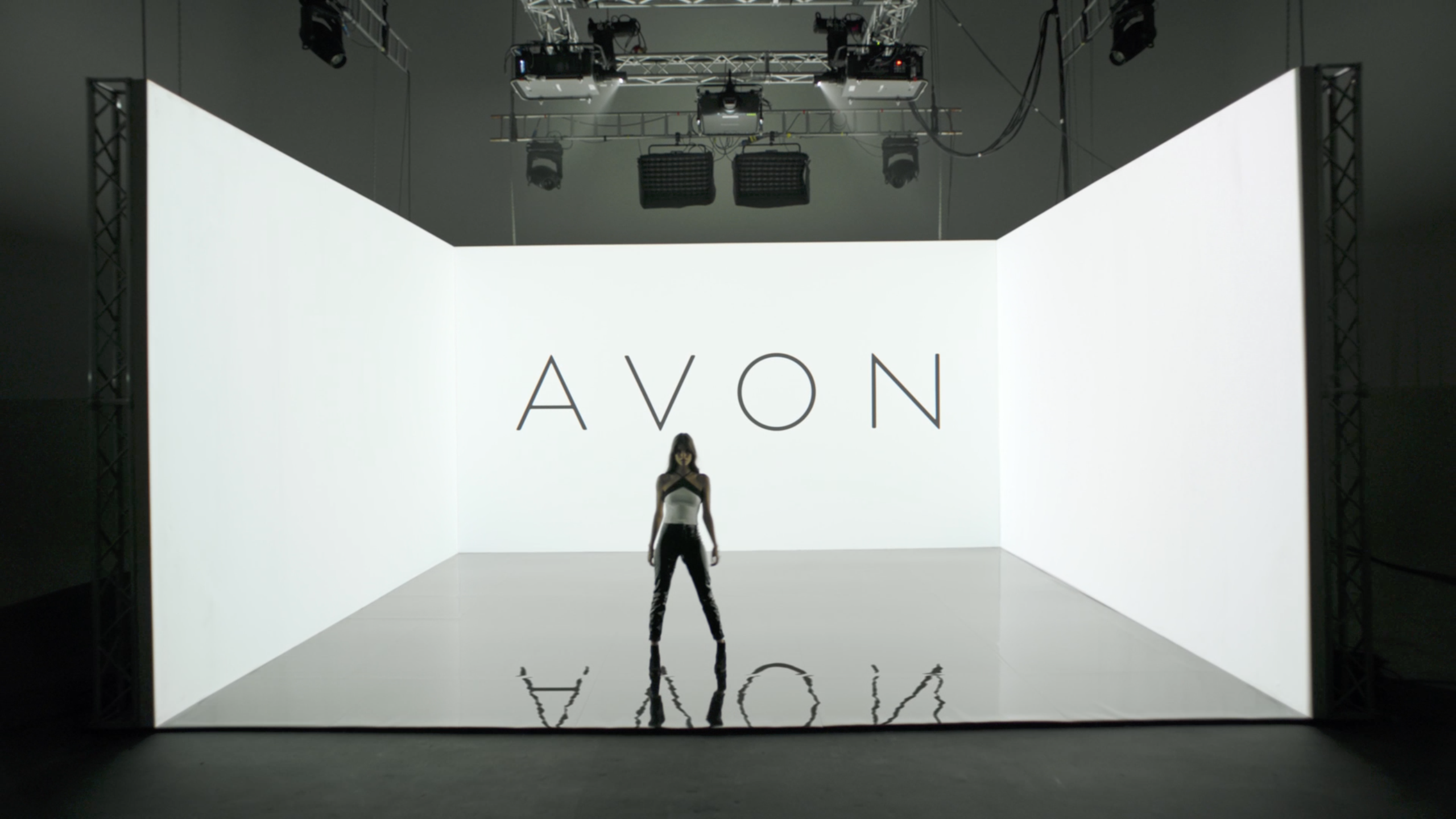 Event Projection: Avon Commercial with immersive projection