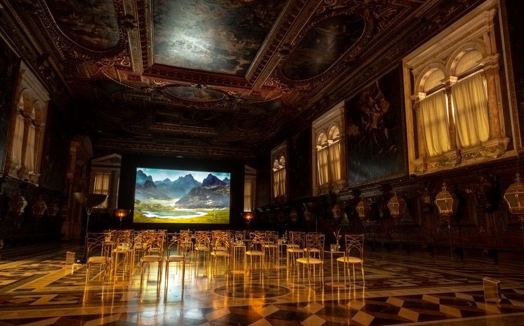 Event Projection: Martha Fiennes film premier at Venice Film Festival