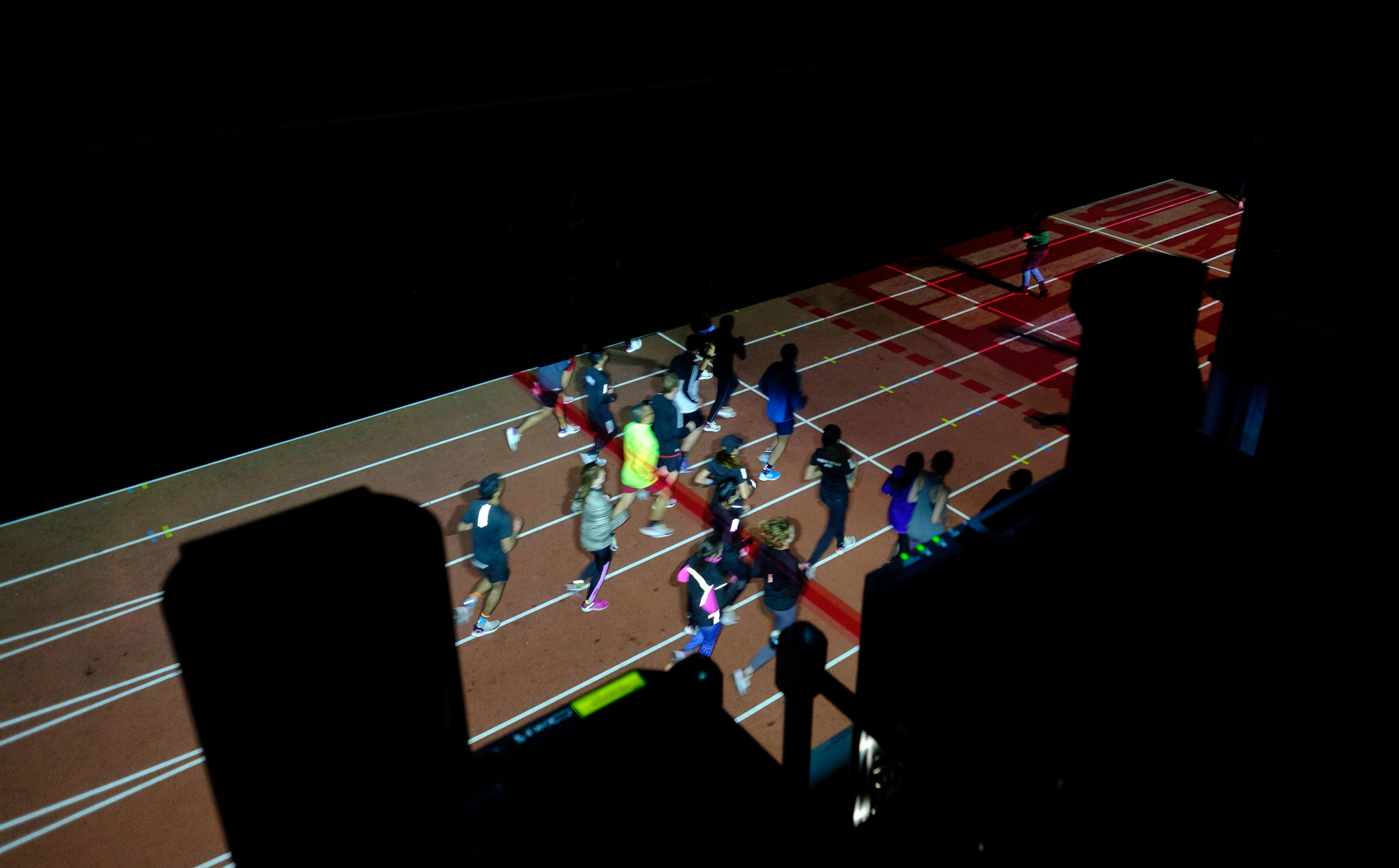 Event Projection: Olympic Park Running Track Projection Mapping for Adidas
