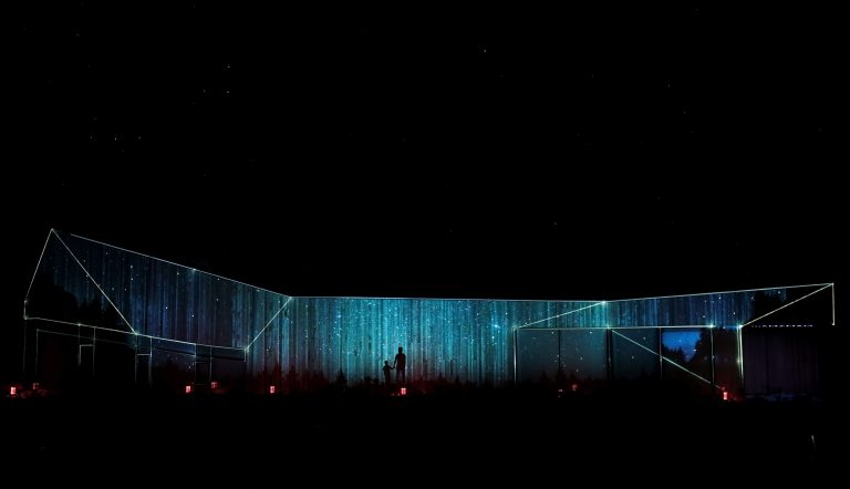 Davagh Observatory Projection Mapping